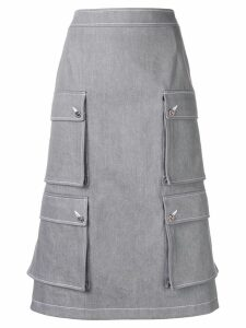 Thom Browne Hunting Cardigan Skirt - Grey