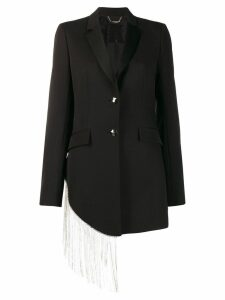 Philipp Plein crystal fringe blazer - Black