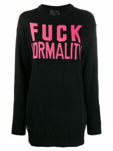 Philipp Plein Statement pullover sweatshirt - Pink