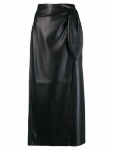 Nanushka high waisted pencil skirt - Black