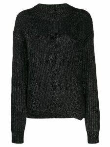 Jacob Cohen chunky knit jumper - Black
