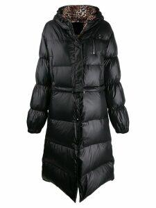 Philipp Plein Flame puffer coat - Black