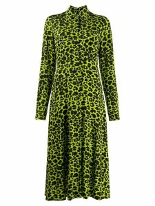Ultràchic leopard print shirt dress - Black