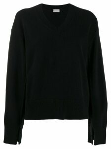 MRZ v-neck sweatshirt - Black
