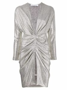 Iro ruched detail dress - Gold