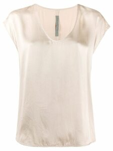 Raquel Allegra shell shirt - Neutrals