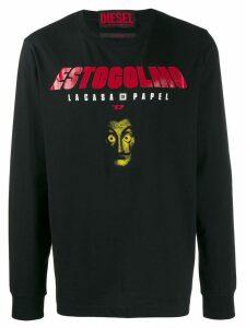 Diesel printed sweater - Black