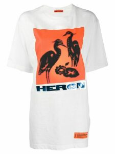 Heron Preston logo print T-shirt - White
