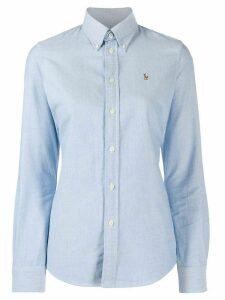 Polo Ralph Lauren logo embroidered shirt - Blue