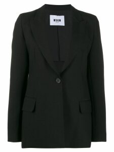 MSGM single-breasted blazer - Black