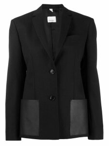 Burberry single-breasted tailored blazer - Black
