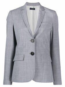 Piazza Sempione classic fitted blazer - Grey