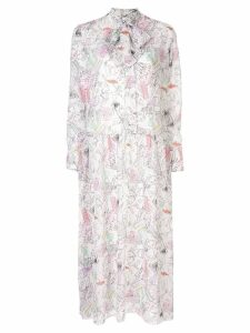 Olivia Rubin floral print dress - White