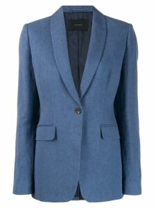 Frenken fitted suit jacket - Blue