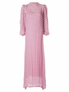 Olivia Rubin polka dot print dress - PINK