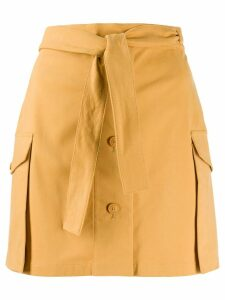 Alberta Ferretti high rise skirt - Yellow