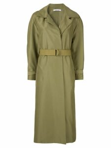 Rachel Gilbert Jorja belted trench coat - Green