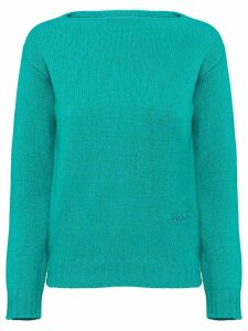Prada Wool and Cashmere Sweater - Green