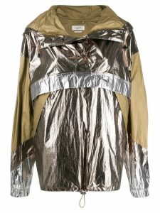 Isabel Marant Kizzy raincoat - Metallic