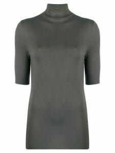 Thom Krom stand-up collar jumper - Grey