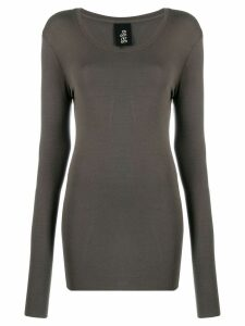 Thom Krom round neck jumper - Grey