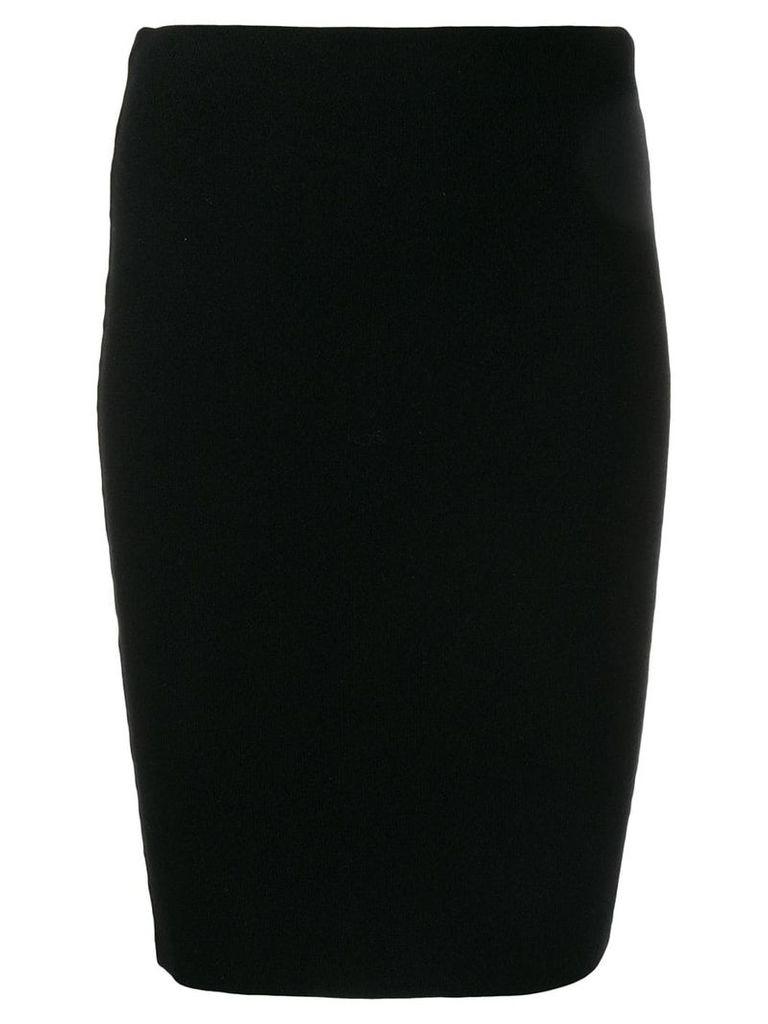 Iris Von Arnim pull-on cashmere skirt - Black