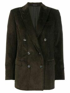 Tagliatore ribbed corduroy blazer - Green