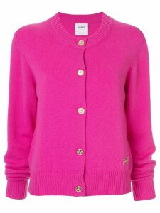 Barrie round neck cardigan - Pink