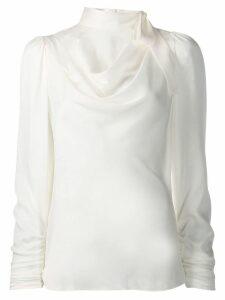 Zimmermann neck-tied blouse - White