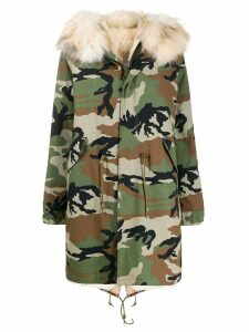 Furs66 camouflage parka - Green