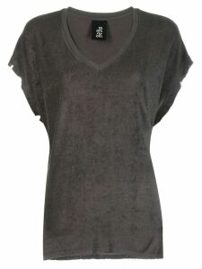Thom Krom V-neck T-shirt - Grey