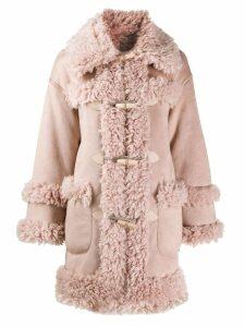 Urbancode oversized coat - Pink