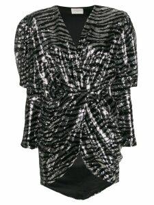 Giuseppe Di Morabito puffed sleeves dress - Black