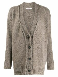 Liska V-neck cardigan - Grey