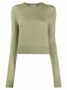 Jil Sander round neck sweater - Green