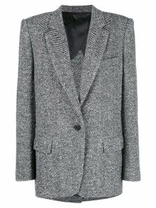 Attico oversized blazer - Black