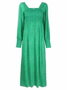 Rixo Marianne floral dress - Green
