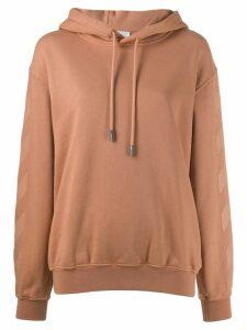 Off-White logo hoodie - Pink
