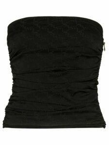 Miaou ruched tupe top - Black