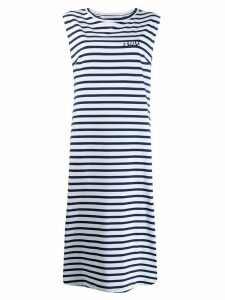 Être Cécile striped tank dress - Blue