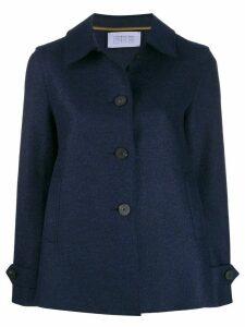 Harris Wharf London A-line coat - Blue