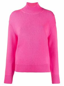 MRZ pierced long-sleeved jumper - Pink