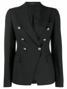 Tagliatore classic double-breasted blazer - Black