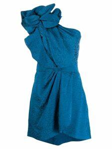 Johanna Ortiz Opponent Interpretation one-shoulder dress - Blue