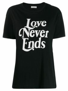 Sandro Paris 'Love Never Ends' T-shirt - Black