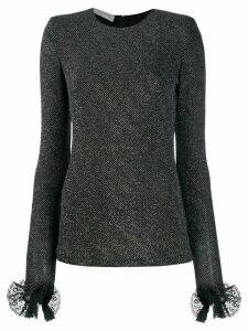 Philosophy Di Lorenzo Serafini structured knit top - Black