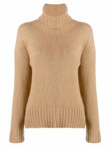 Jejia rollneck knit sweater - Neutrals
