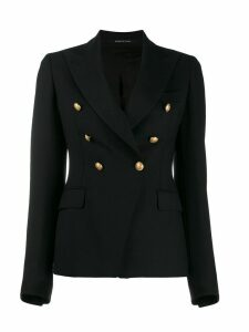 Tagliatore double breasted blazer - Black