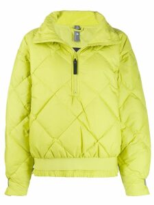 Adidas By Stella Mccartney diamond quilted jacket - Green