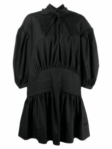 Simone Rocha balloon sleeve dress - Black